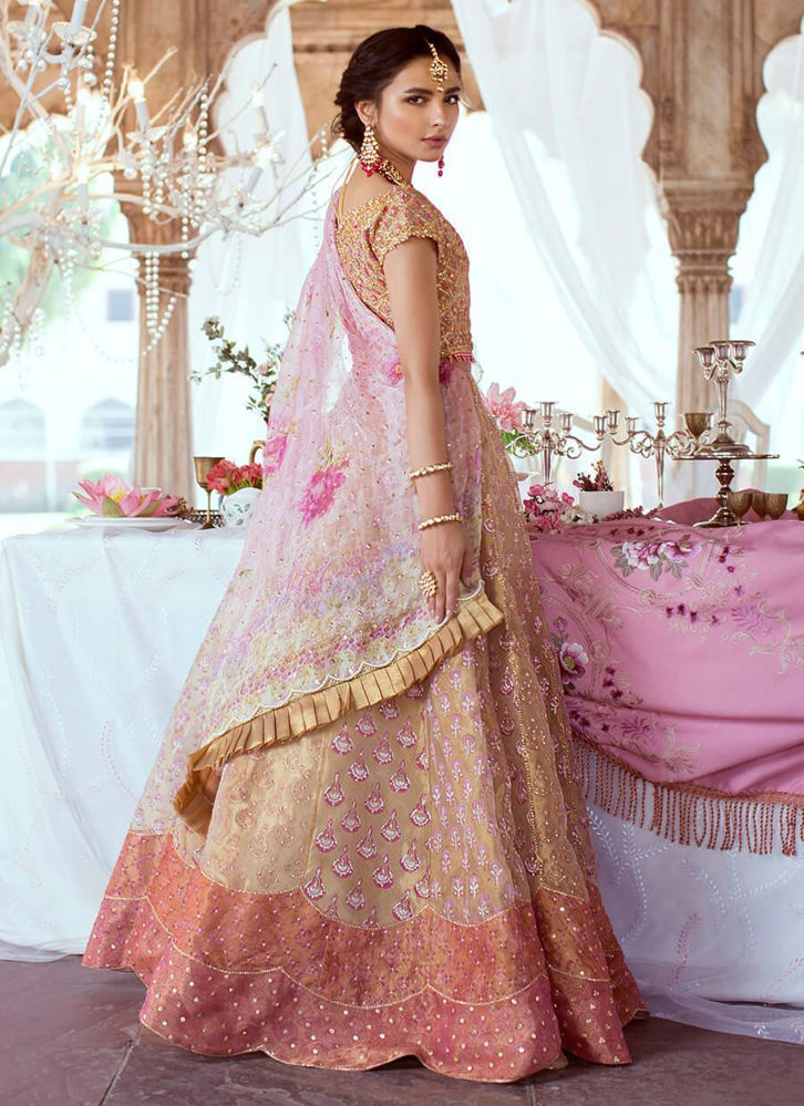 Picture of Rose Gold Lehnga Choli